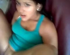 indian cute girl getting fuck in sofa
