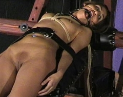 Sahara Knite humiliating circumstance subjection and spanked indian bdsm slave in harsh