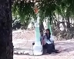 Indian college girl fucked encircling park