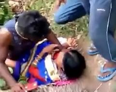 Desi indian Randi outdore group intercourse