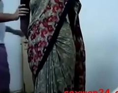 My sexay jan ujawala dealings in saree cute figure (...