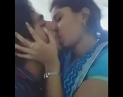 desi indian girlfriend kissing her phase