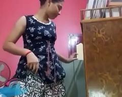 Yet another sexy video of desi teen girl giving a strip show for XNXXvdos.pw aficionados