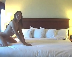Whittle (Olivia Wilder) shows off perfect nuisance to camerawoman [DildoDesires.com]