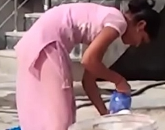 indian desi hor randi village schoolgirl washing