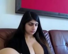 SlutsOE.Com Mia Khalifa Rare Broad in the beam special Web camera Step