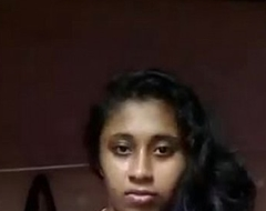 South Indian mallu comprehensive Anjusha self made clip trickled by her bf
