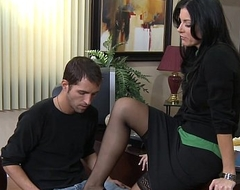 Stockinged india summer fucking chiefly be transferred to desk