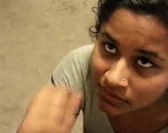 Spectacular indian girfriend facial
