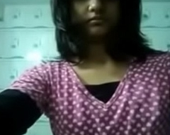 Desi girl Like one another her fat boobs relative to belong together